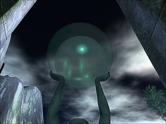 LEA23:  -Gates of Oria Revisited -Orb Held Into A Stormy Sky