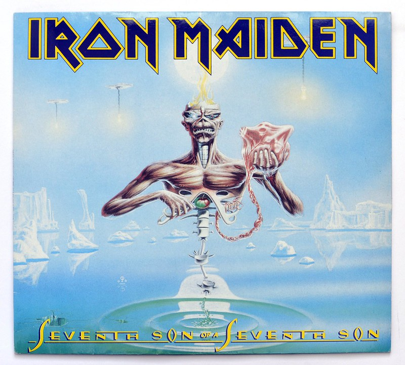 A0305 IRON MAIDEN Seventh Son of the Seventh Son