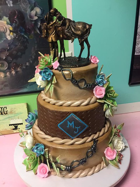 Cake by Kerry Kennedy of Kerry's Cake Creations