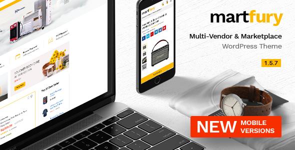 Martfury v1.5.7 - WooCommerce Marketplace WordPress Theme