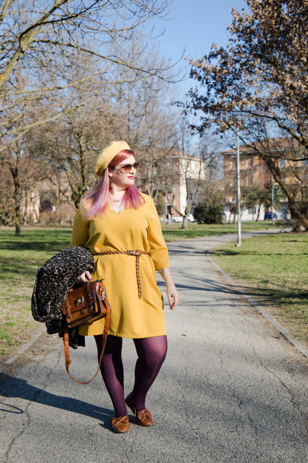 Outfit giallo, plus size (8)