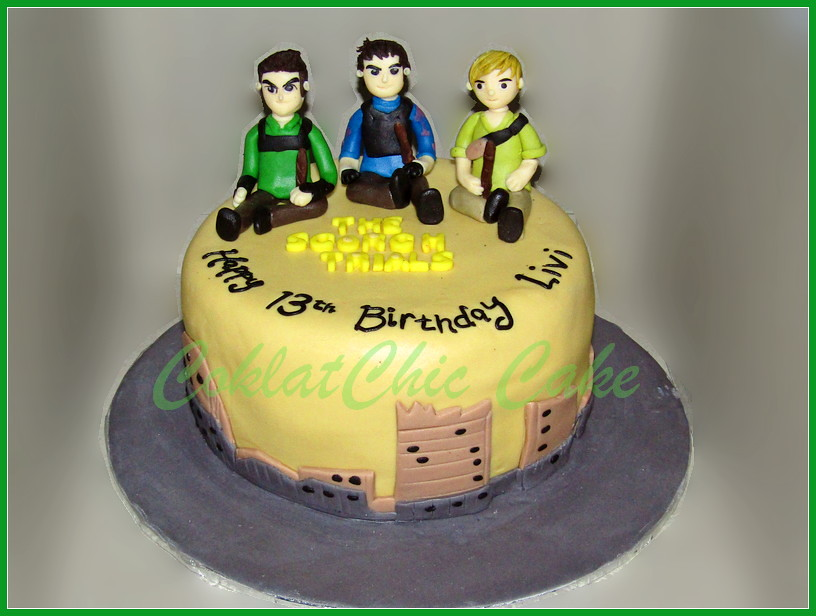 cake scorch trials LIVI 15 cm