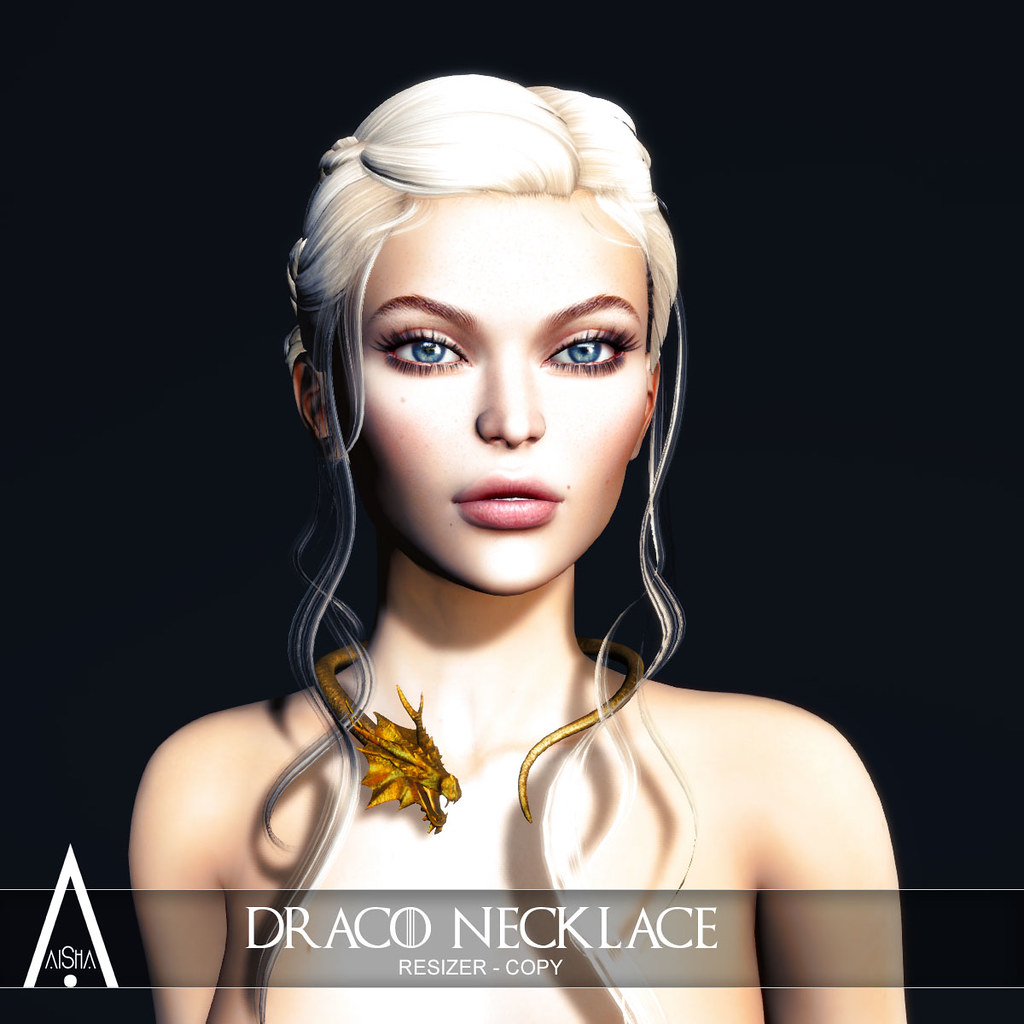 .AiShA. Draco Necklace