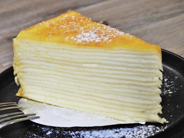 French Vanilla Mille Crepe Cake