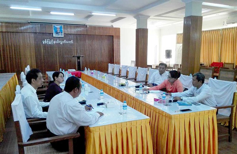 Meeting with Deputy Speaker of Mon State Hluttaw