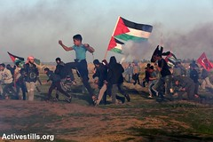 Great March of Return Protest, Gaza Strip, 4.1.2019