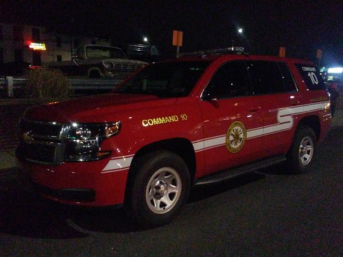 2019 Chevy Tahoe - Command 10 | New Cumberland Fire