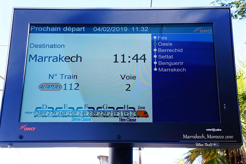 Morocco Loasis to Marrakech Station