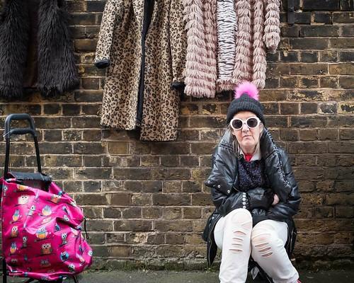 Car Boot Trader - Candid, Hackney London