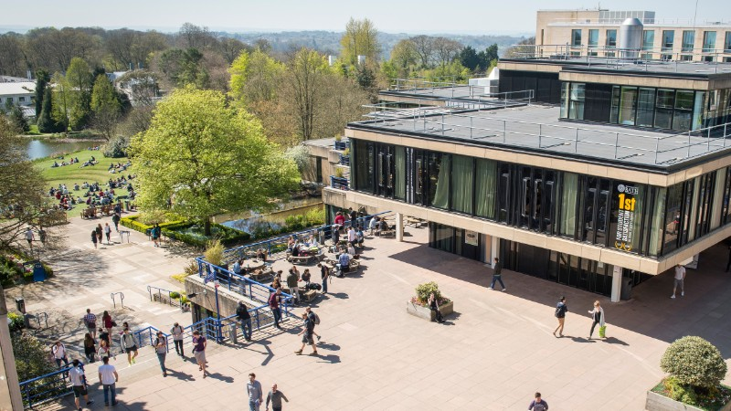 Overview of Bath campus