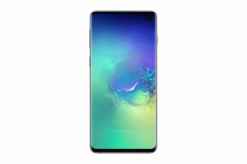 Samsung Galaxy S10 - Prism Green - Front