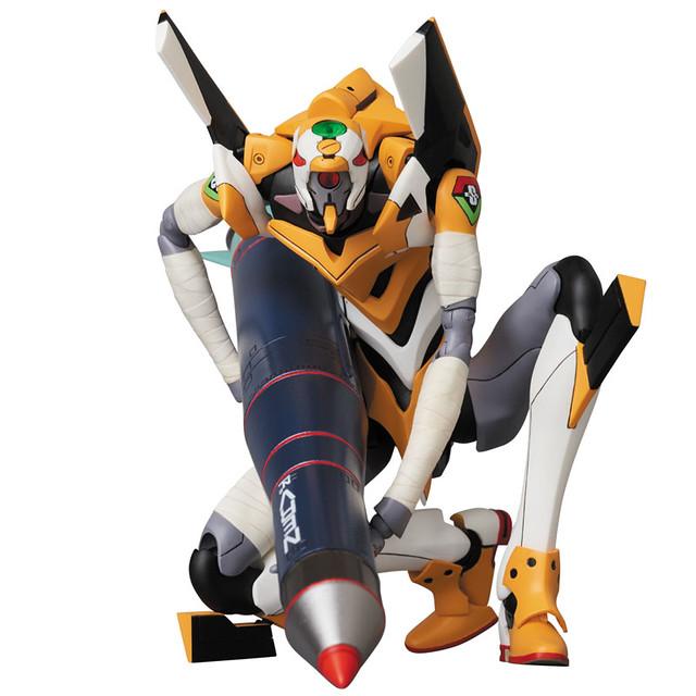 J個 N2 飛彈超大顆!MAFEX No.098《福音戰士新劇場版》EVA零號機(改)|エヴァンゲリオン零号機(改)