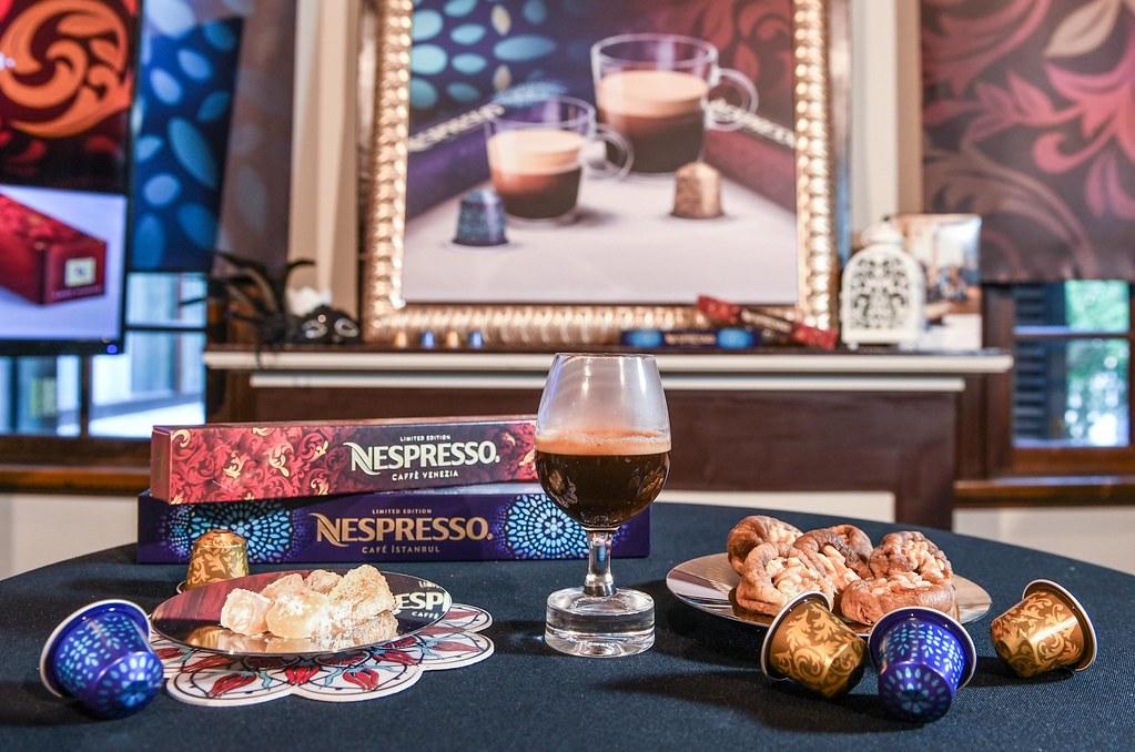 4.瑞士頂級咖啡品牌 Nespresso 以世界上最早的咖啡館及咖啡文化為靈感,推出全新限量款「土耳其伊斯坦堡咖啡」及「義式威尼斯咖啡」