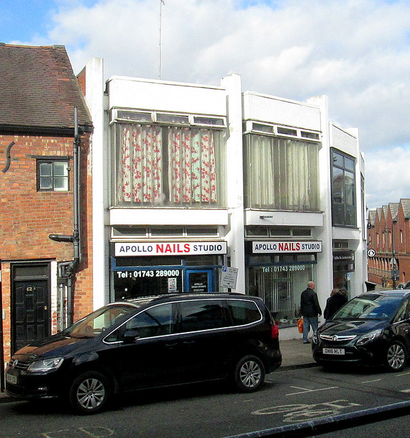 Art Deco Shop Terrace, Shrewsbury 1