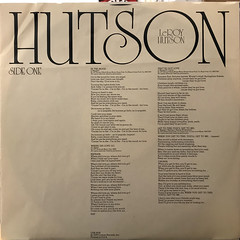 LEROY HUTSON:CLOSER TO THE SOURCE(INNER 1)