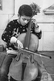 Young Cello Player (M)-03290M | by G.K.Jnr.
