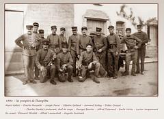 1938 Champlitte Pompiers identifiés