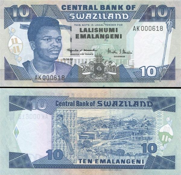 10 Emalageni Swazijsko 1998, P24c