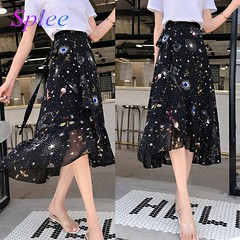 US $39.99 |Splee 2018 New Puff Women Mesh Tulle Long Skirt Fashion Vintage Pleated Floral Embroidery Elegant Female Skirts Streetwear-in Skirts from Women's Clothing on Aliexpress.com | Alibaba Group