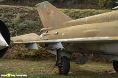 2343---96001091---German-Air-Force---Mikoyan-Gurevich-MiG-21MF-75---Savigny-les-Beaune---181011---Steven-Gray---IMG_5634-watermarked