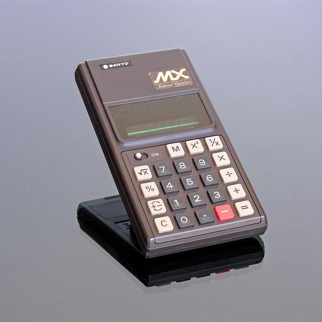 SANYO CX-8181A MX Technical Calculator