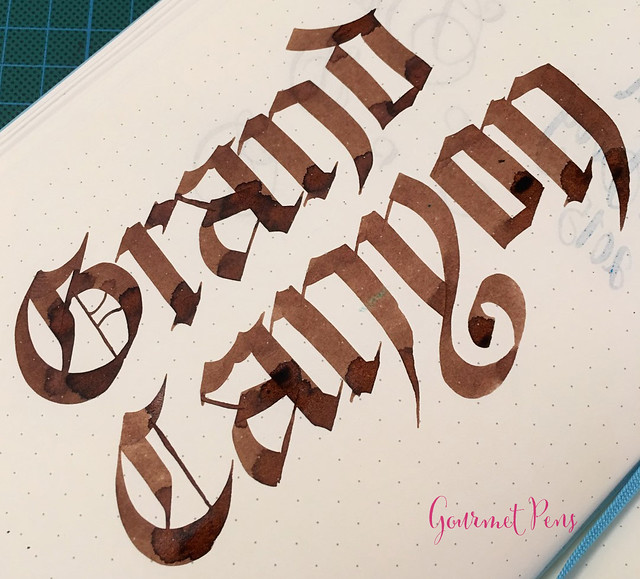 Caran d'Ache Grand Canyon Ink 1