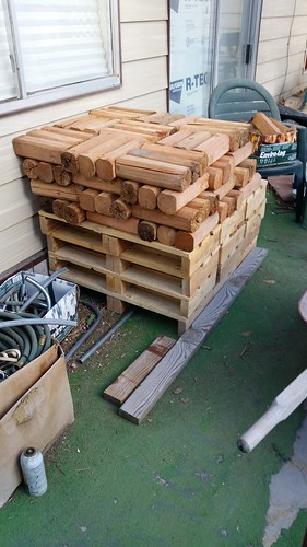 Fence Posts and Pallets