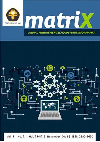 MATRIX Jurnal Manajemen Teknologi dan Informatika