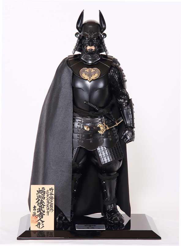 原來《蝙蝠俠》存在於日本戰國時代!?吉德推出漆黑之南蠻甲冑「蝙蝠俠鎧飾」、「蝙蝠俠武者人偶」!