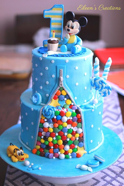 Cake of Candies by Eileen Raagas of Eileen's Creations