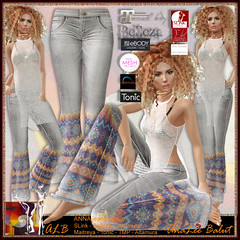 ALB ANNA jeans hippie by AnaLee Balut