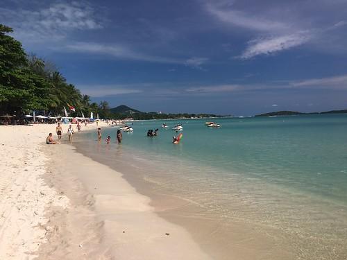 今日のサムイ島 12月28日 まだ穏やか