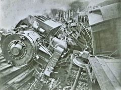 Accident at Woodhaven Junction - Rugen - 1905