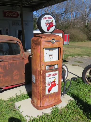 Texaco Gas Pump Slocomb AL