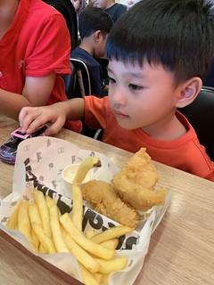 Lunch with Mak Cho @ Steak Shack, Aeon