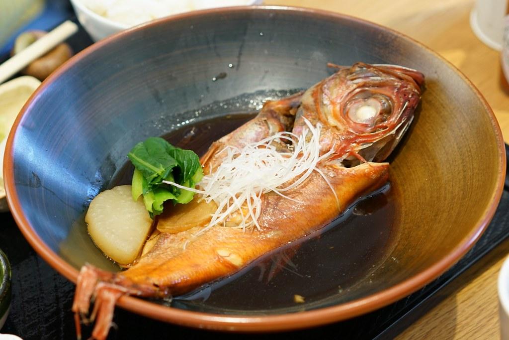館山なぎさ食堂_金目鯛の煮つけ