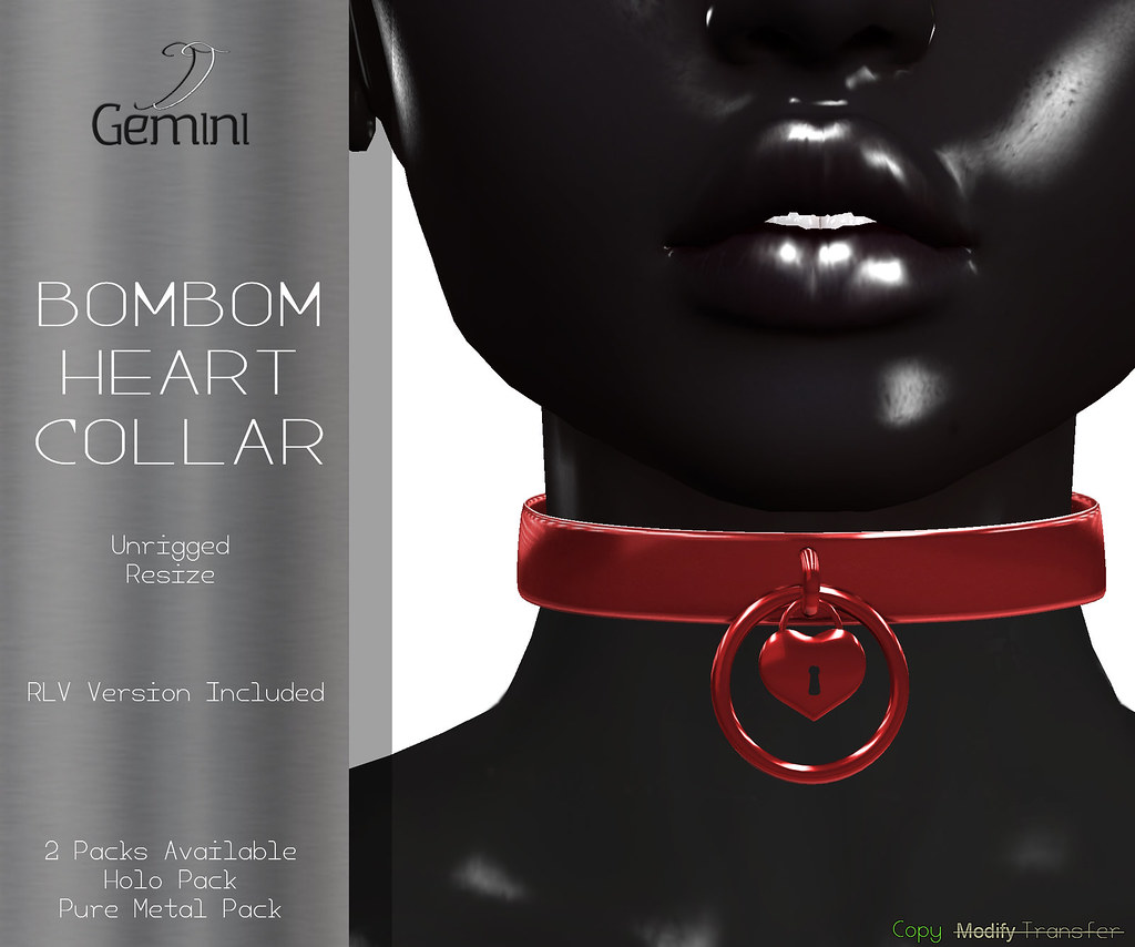 •Gemini -Bombom Heart Collar- @ XXX Original Event•