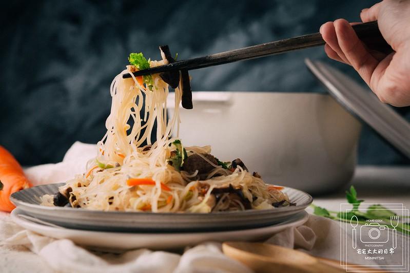 台式家常炒米粉,炒米粉食譜,簡單炒米粉 @陳小可的吃喝玩樂