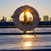 Frozen Pier Ring Sunset 3