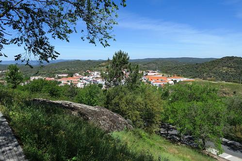 Vistas desde el Castillo de Cortegana / Views from the Castle of Cortegana