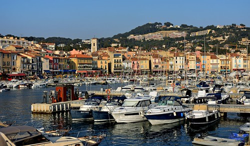 Cassis town and harbor