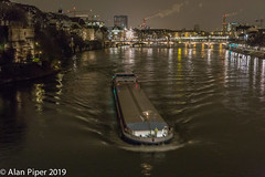 The Rhein at Basel (Night)