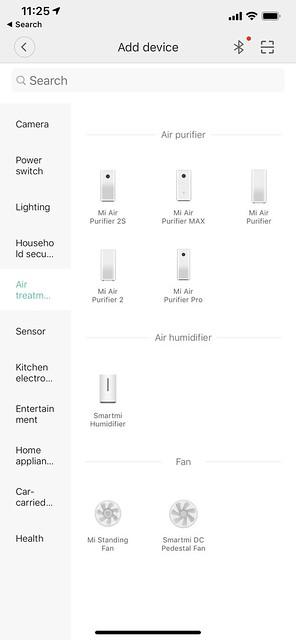 Mi Home iOS App - Add Device