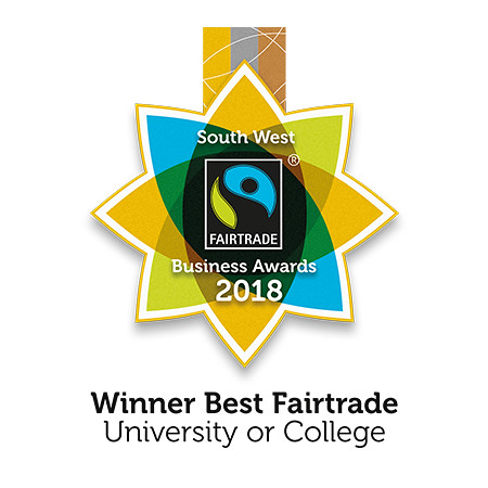 Gold award for Best Fairtrade University 2018
