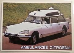 1971-1975 CITRO�N DS Break Confort Ambulance