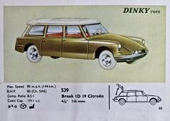 1958-1967 CITRO�N ID 19 Break by Dinky Toys