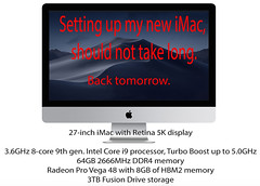 New iMac-2019 - Update
