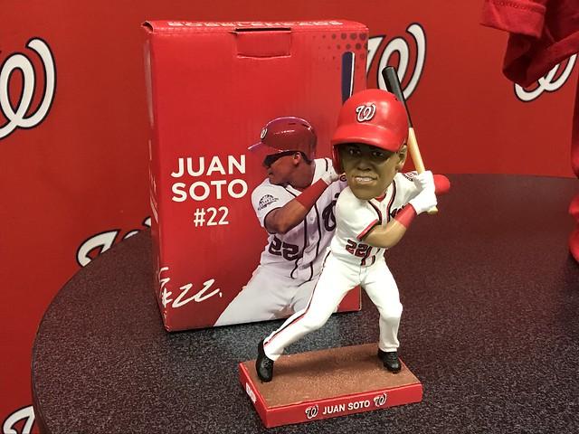Juan Soto 2019 Bobblehead