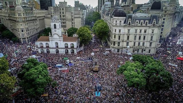 Marcha do Dia Nacional da Memória pela Verdade e Justiça, em Buenos Aires, capital da Argentina - Créditos: Emergentes