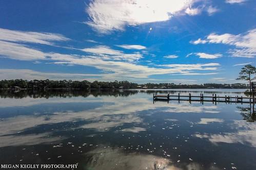 Perdido Bay from my friends house in Elberta, Alabama.